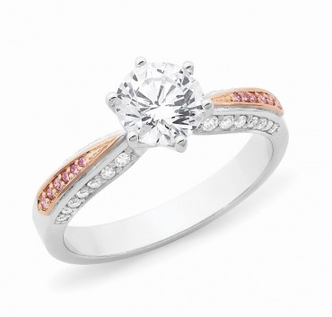 Solitaire with pink diamonds3